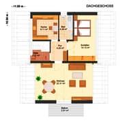 Fortuna 283 - Dreifamilienhaus (inactive) Grundriss