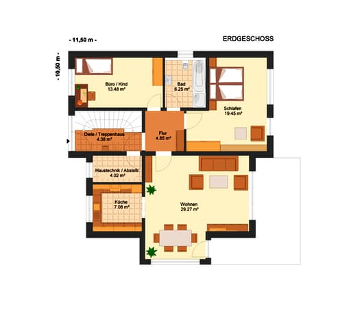 Fortuna 283 (Dreifamilienhaus) floor_plans 2