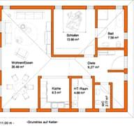 FR 100 (Kundenhaus) Grundriss