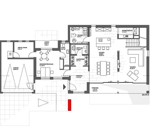 Frame Musterhaus Köln Floorplan 1