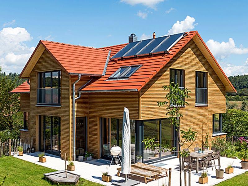 Modernes Holzhaus von Frammelsberger Holzhaus
