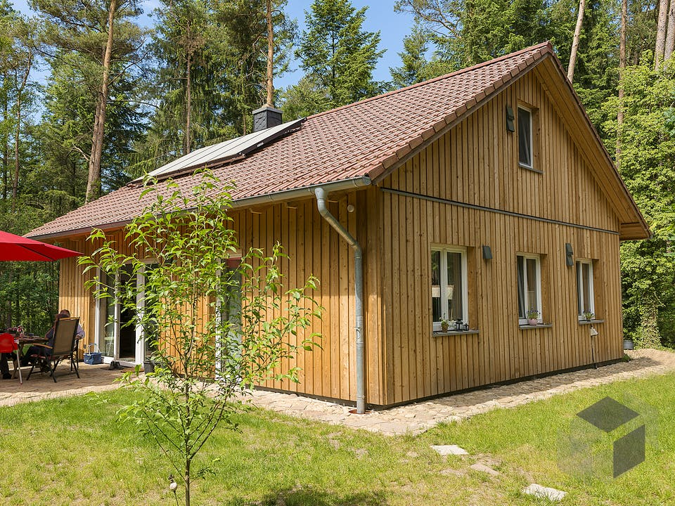 Typ 3 von Fricke Holzbau Außenansicht