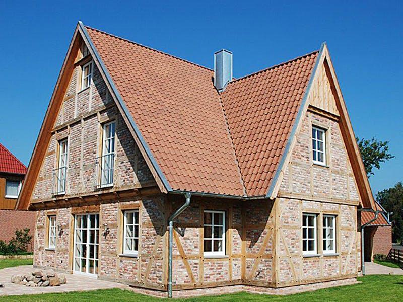 Fachwerkhaus mit Klinkerfassade von Fuhrberger Fachwerkhaus