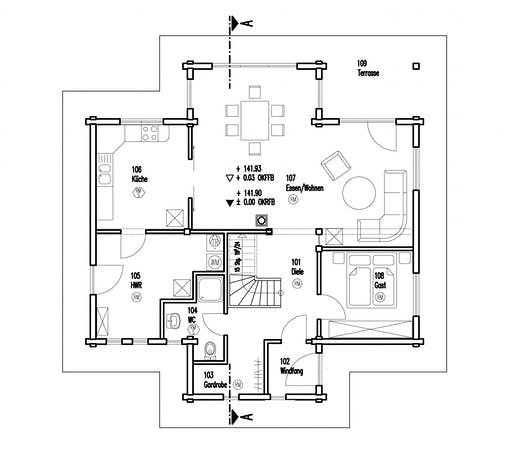 Fullwood - Felsblick Floorplan 1