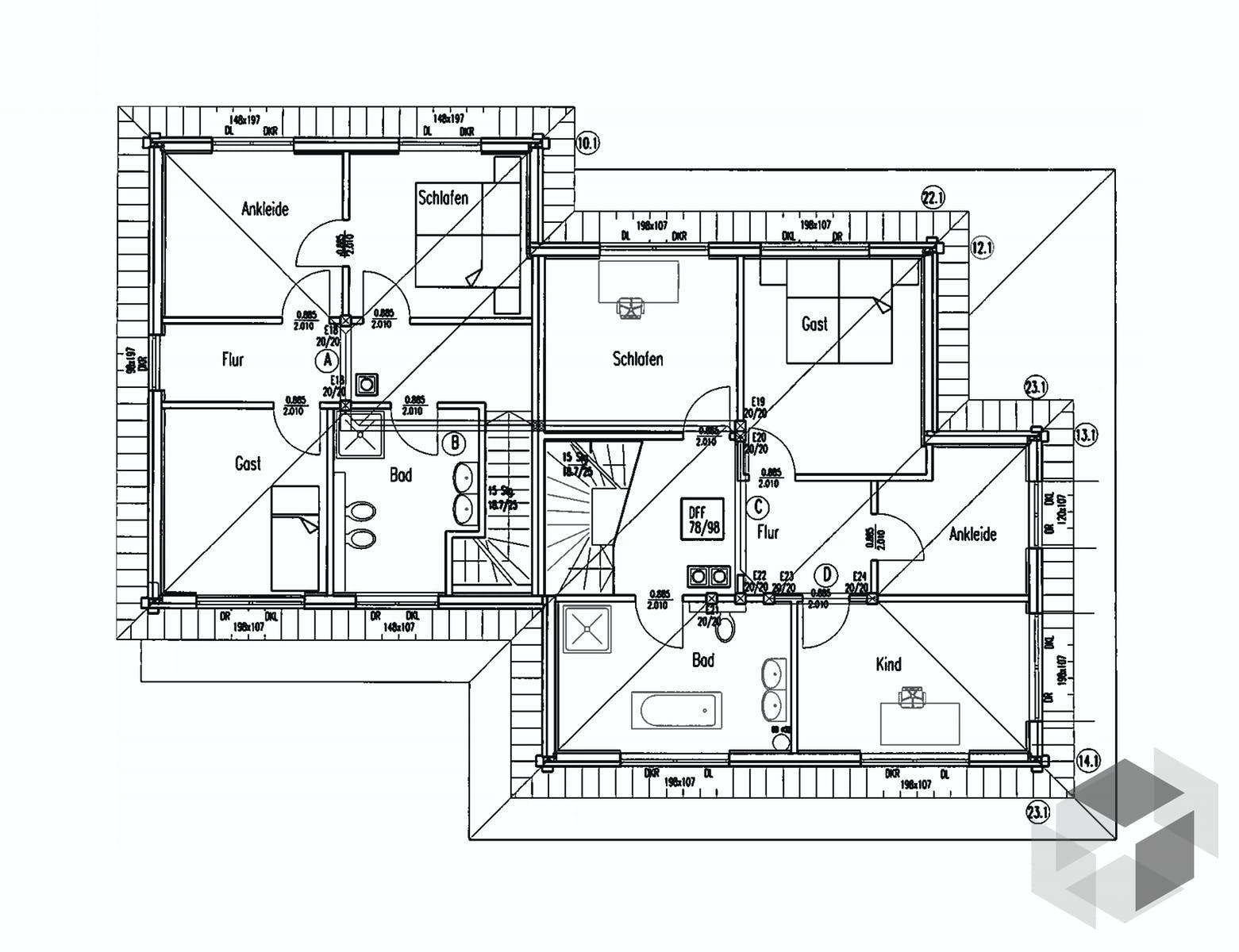 Zweifamilienhaus Provence Von Fullwood Wohnblockhaus Fertighaus De