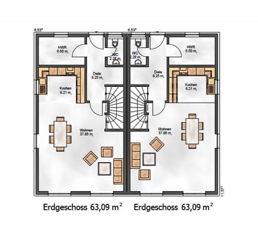 Funktionale 124 floorplan 1