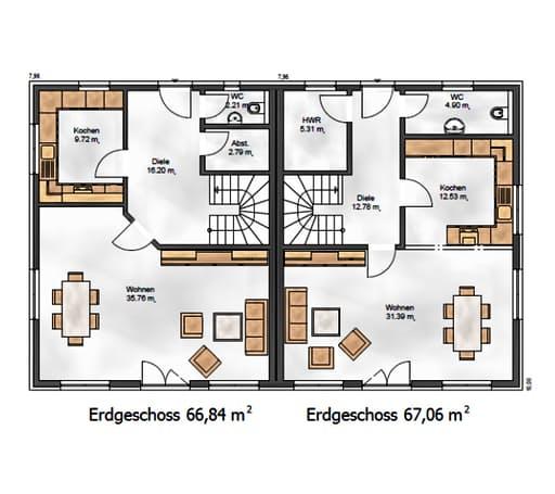 Funktionale 131 floorplan 1