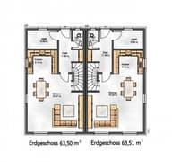 Das Funktionale 171 (inaktive) Grundriss