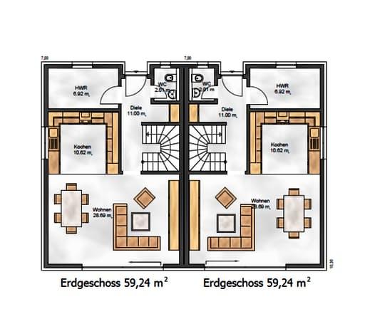 Funktionale 176 floorplan 1