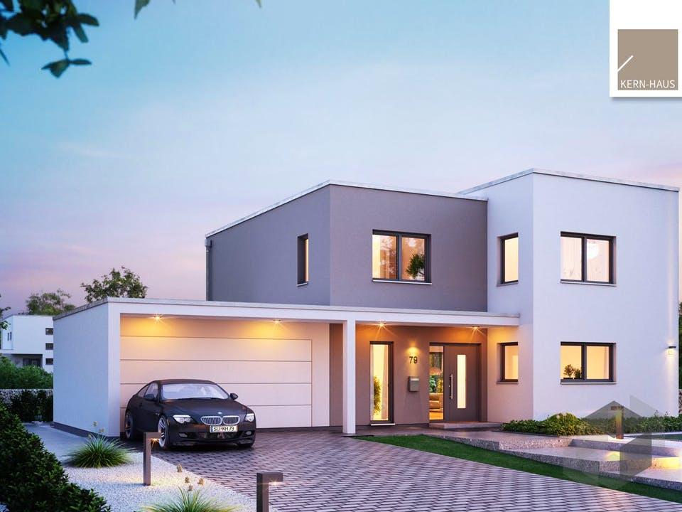 Bauhaus Futura von Kern-Haus Außenansicht