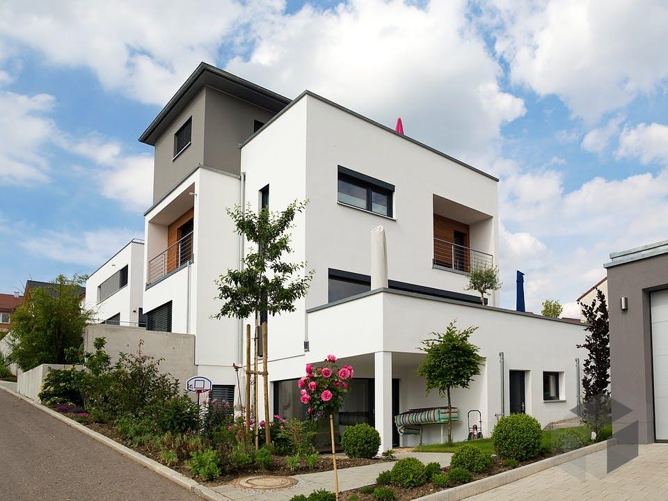 FD 178-026 - Exklusive Bauhausvilla am Hang von Gapp Holzbau Außenansicht