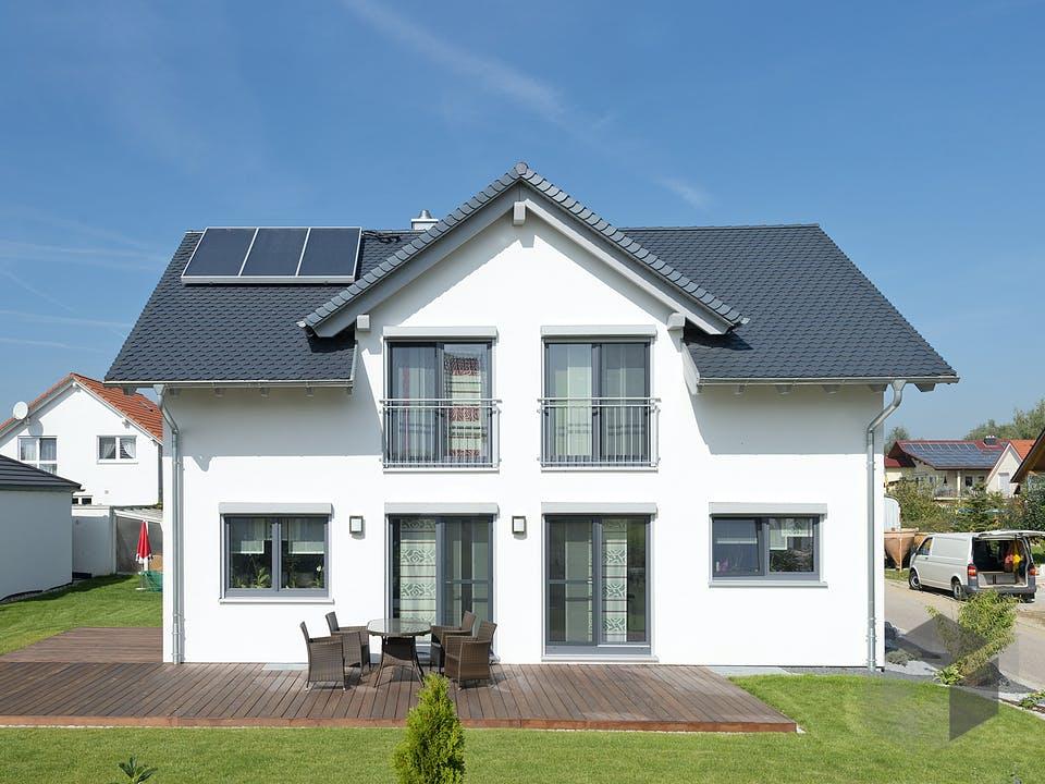 SD 134-136 - Landhaus für junge Familien von Gapp Holzbau Außenansicht
