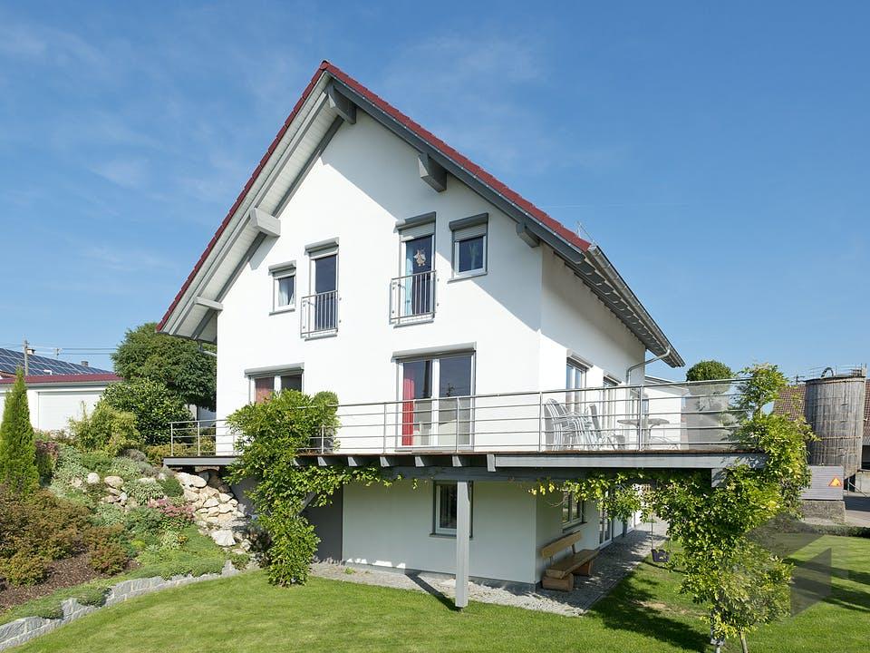 SD 150-072 - Familienfreundliches  Landhaus von Gapp Holzbau Außenansicht