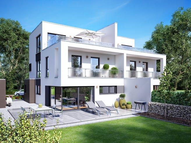 Gemello FD 280 von Büdenbender Hausbau Außenansicht 1