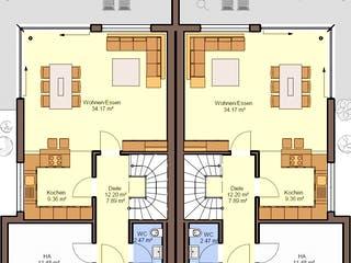 Gemello FD 280 von Büdenbender Grundriss 1