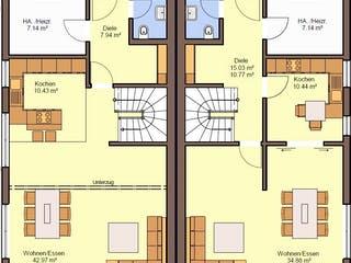 Gemello SD 134 von Büdenbender Grundriss 1