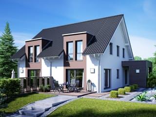 Gemello SD 136 von Büdenbender Hausbau Außenansicht 1