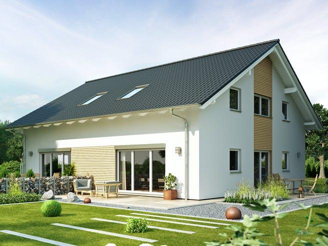 Gemello SD 131 von Büdenbender Hausbau Außenansicht 1