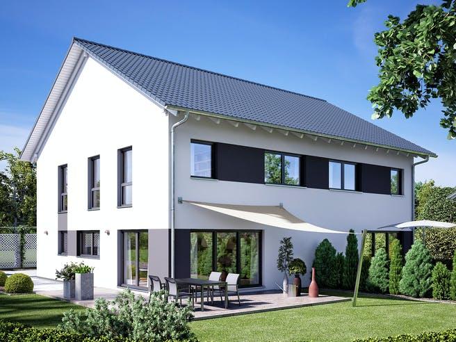 Gemello SD 134 von Büdenbender Hausbau Außenansicht 1
