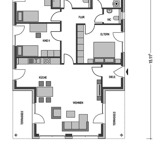 Generationenhaus 5 Floorplan 1