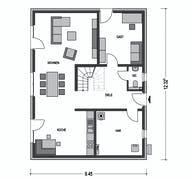 Einfamilienhaus Alto 741 Grundriss