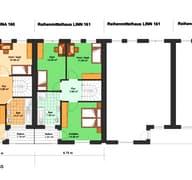 Gina 161 (Reihenendhaus) Grundriss