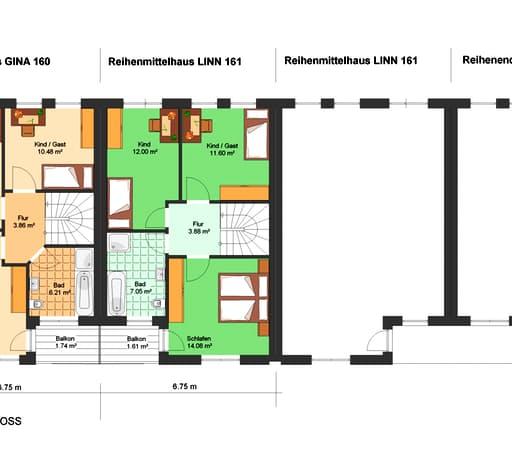 Gina 161 (Reihenendhaus) floor_plans 0