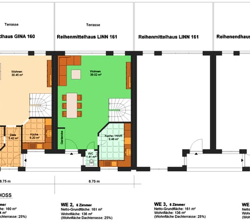 Gina 161 (Reihenendhaus) floor_plans 1