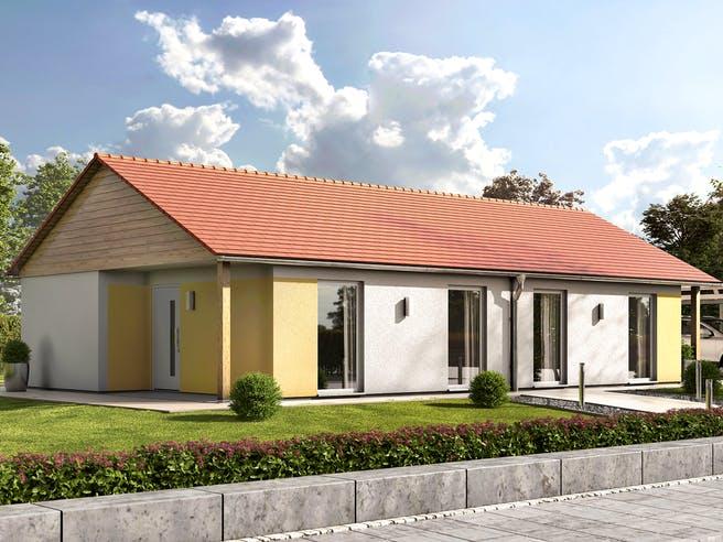 Glückswelthaus DH Bungalow 45 von Town & Country Haus Außenansicht 1