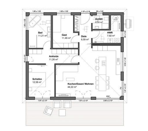 Goethestraße 109 Floorplan 1