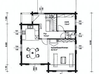 Gomadingen von Rems-Murr-Holzhaus Grundriss 1