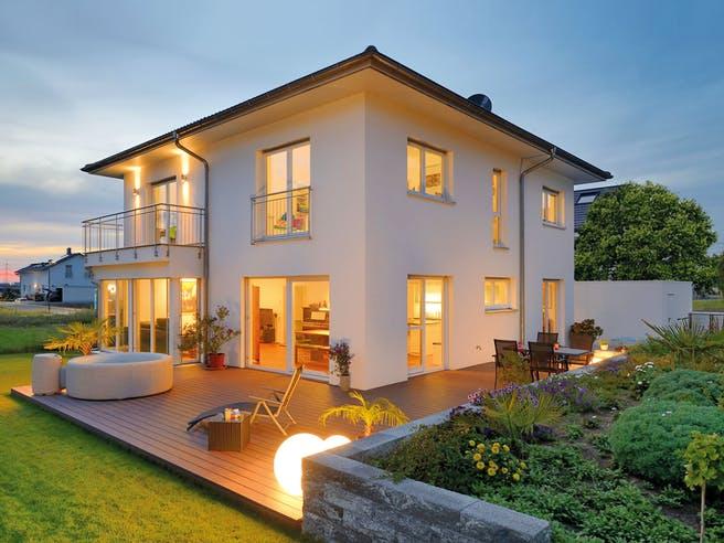 Haus Griffiths von Fertighaus WEISS Außenansicht 1
