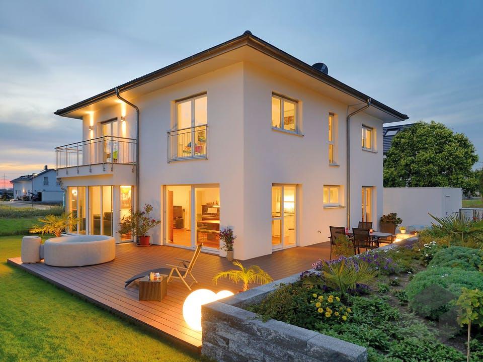 Haus Griffiths von Fertighaus WEISS Außenansicht