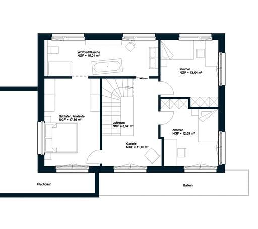 Griffner Box Wien Flachdach Floorplan 2