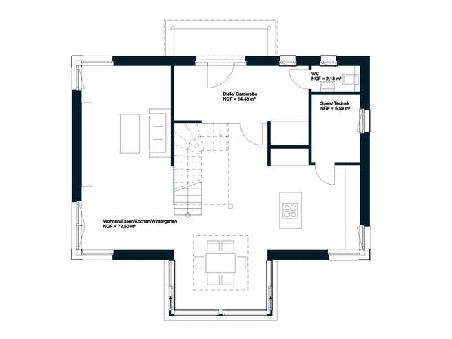 Griffner Classic Graz Floorplan 1