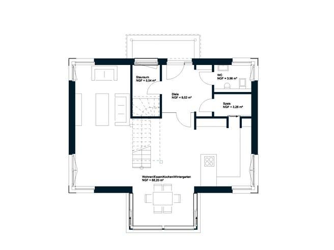 GRIFFNER CLASSIC Haid von Griffnerhaus - Österreich Grundriss 1