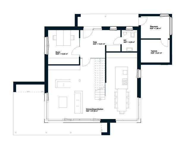 Griffner Square Salzburg Floorplan 1