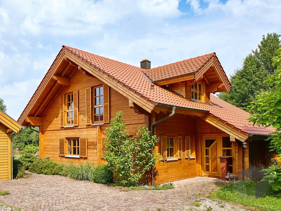 Görwihl von Rems-Murr-Holzhaus Außenansicht