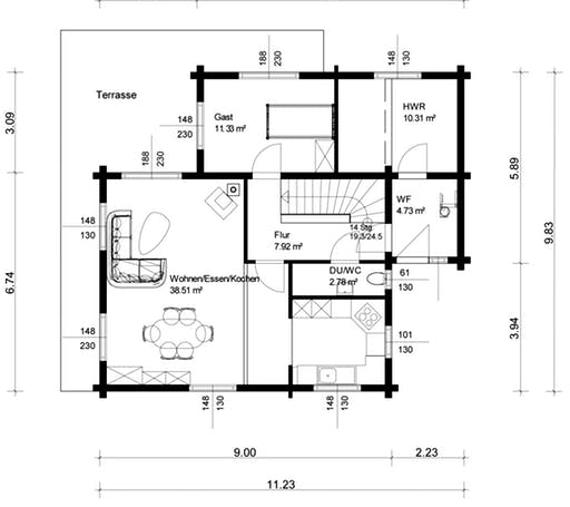 Grosserlach Floorplan 1