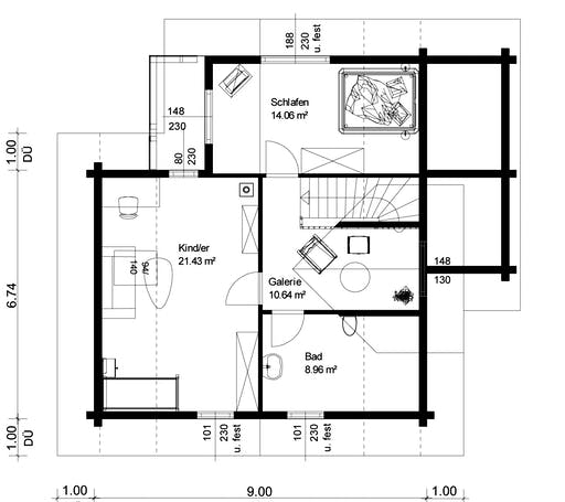 Grosserlach Floorplan 2