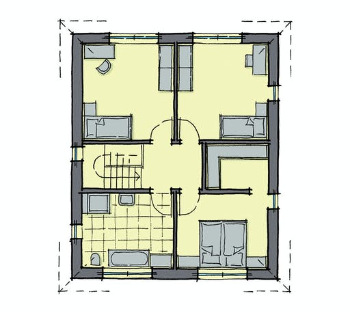 Gussek Brooklyn Floorplan 2