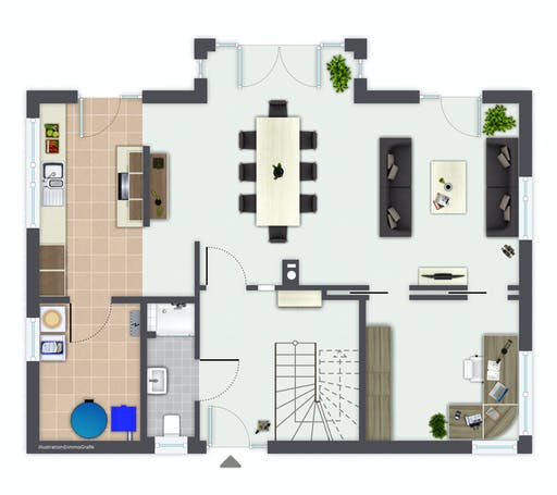 Gussek Erlenbach Floorplan 1