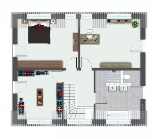 Gussek Hoheneck Floorplan 2