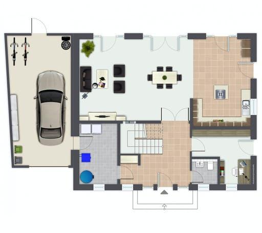 Gussek Rheinfeld Floorplan 1
