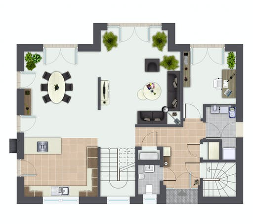 Gussek Sanderau Floorplan 1