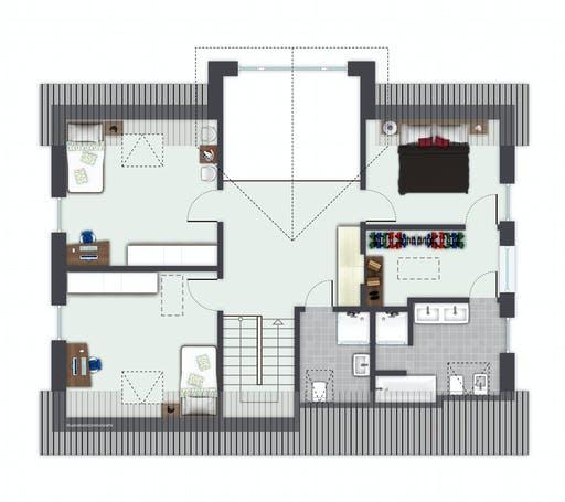 Gussek Sanderau Floorplan 2