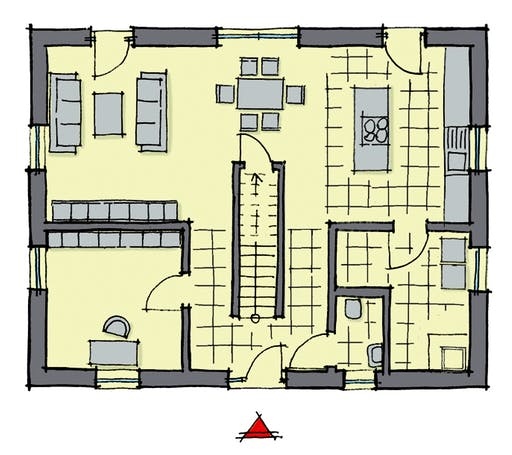 Gussek Weidenallee Floorplan 1