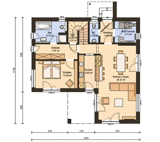 Haas BS 129 A Floorplan 3