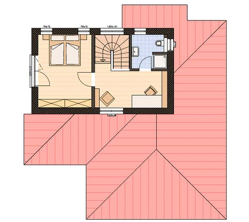 Haas BS 129 B Floorplan 4