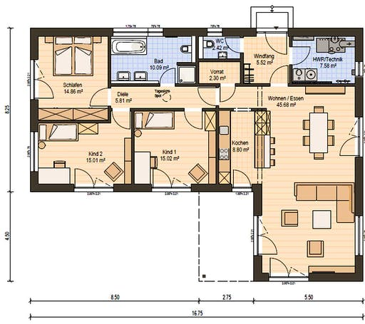 Haas BT 133 B Floorplan 3